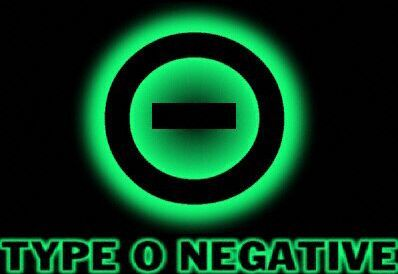 Type O Negative Band Symbol Easy Listening Sounds For The Hard Of