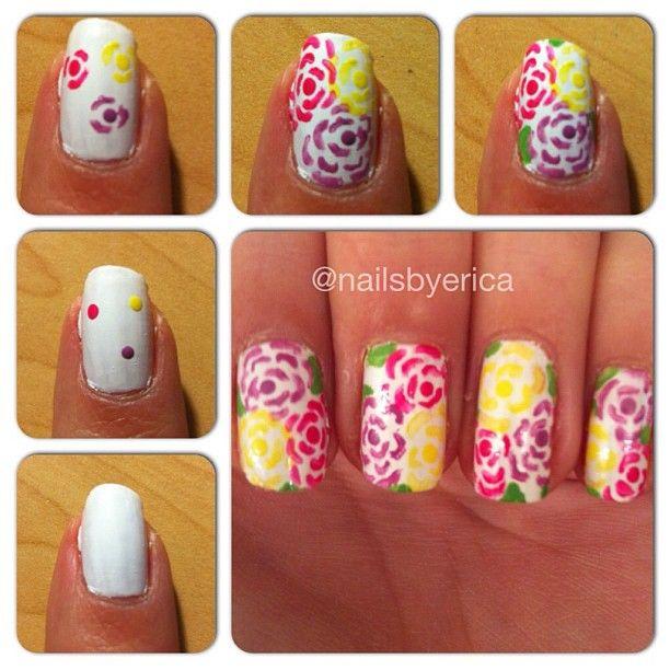 Uñas Nails. paso a paso