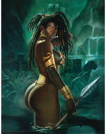 from Axel graphic art warrior women sex