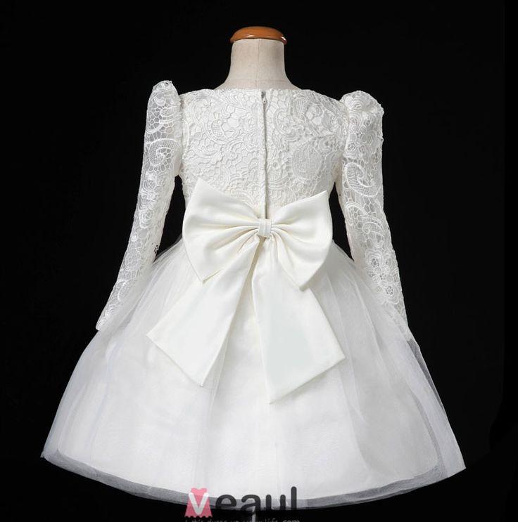 Jurken-Voor-Bruiloft-Bloemenmeisjes-Jurken-Lange-Mouwen-Witte-Bloem-Meisje-Prinses-Jurk-img-flower-girl-dresses-1013-1013_7.jpg (790×798)