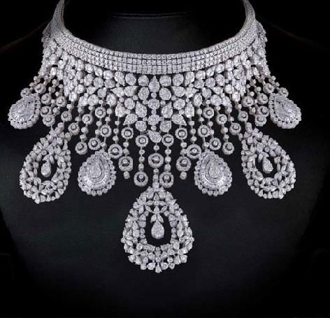 ahlam dollar waleg diamond mouawad necklace million big diamonds worth archives and of