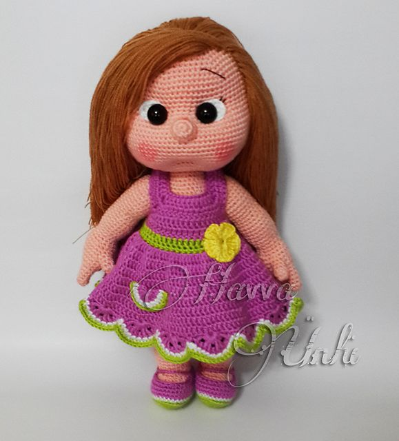 Ravelry: Mia Doll Inspired Watermelon pattern by Havva Ünlü
