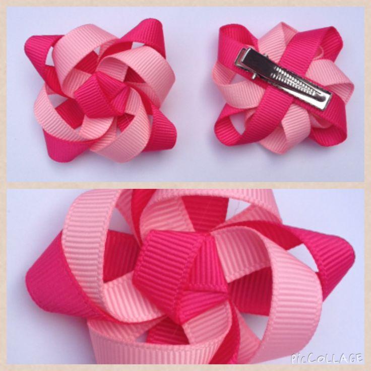 44 best flower hair accessories images on pinterest grosgrain gorgeous pink flower hair accessories on alligator clips for girls flower hair accessories flower mightylinksfo