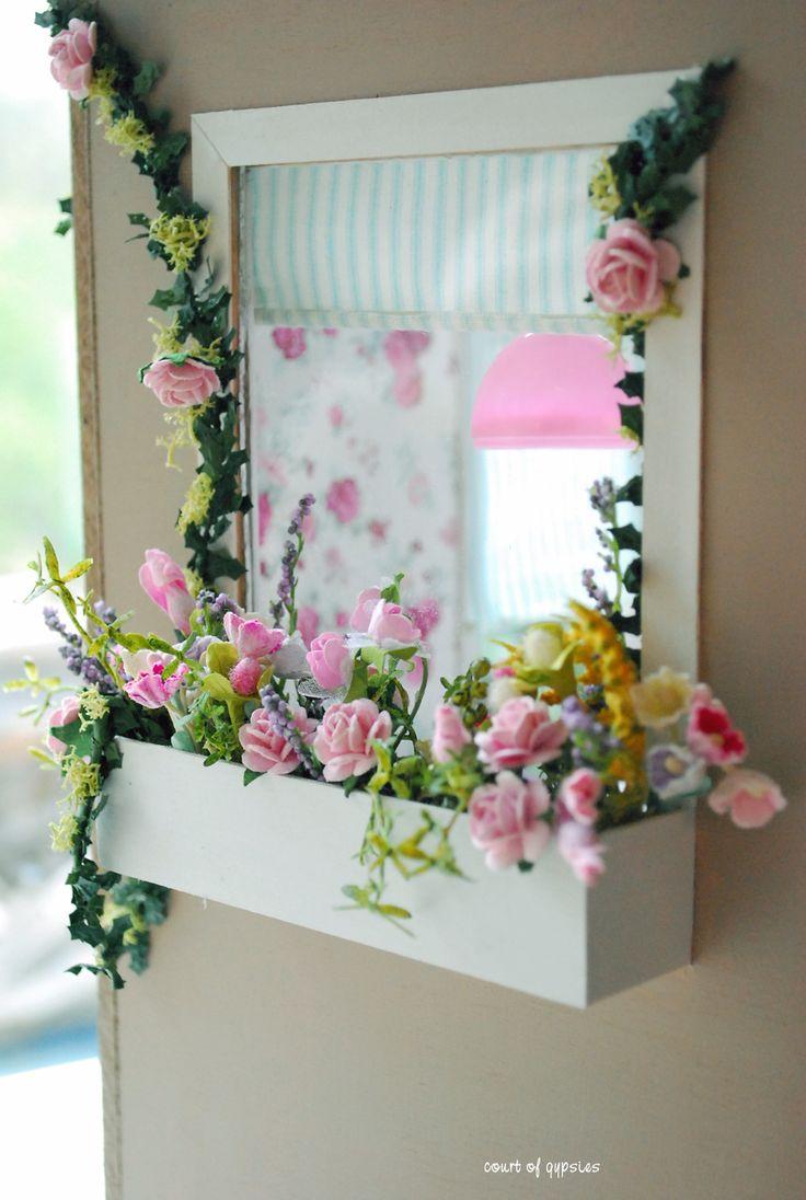 "hmm cute idea for an indoor ""window box"""