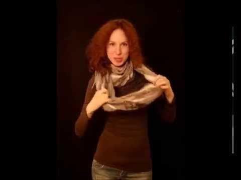завязывание шарфа 0006
