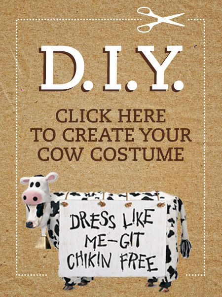 Cow Appreciation Day - Wear Your Cow Costume | Chick-fil-A. printable cow face, etc.