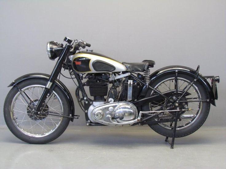 BSA 1952 B33 500cc | MOTORCYCLE ARCHIVE | Bsa motorcycle ...