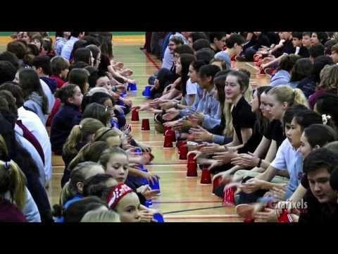Cup Song en maternelle: J'aime l'école! – Sur mon tableau noir…