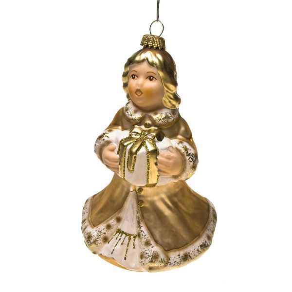 Krebs Glas Lauscha Collectable Glass Bauble Range  -  Limited Edition Goebel Angel Certificate Number 759
