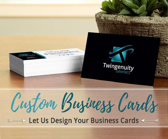 Business Card Custom Designed Business by TwingenuityGraphics