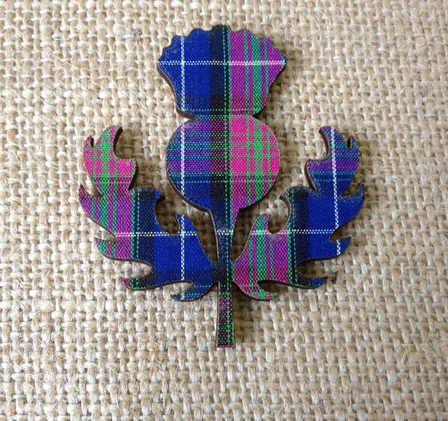 Image result for purple tartan stag plaque