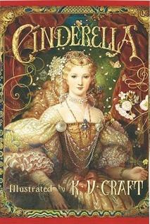 Capa de Cinderela um clássico da literatura infantil de Charles Perrault.