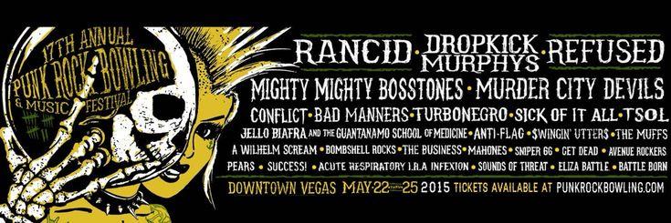 #Punk news:  PUNK ROCK BOWLING: da domani le prevendite http://www.punkadeka.it/punk-rock-bowling-da-domani-le-prevendite/ Il noto festival Punk Rock Bowling che si terrà dal 22 al 25 Maggioe vedrà sul palco band come Rancid, Dropkick Murphys, RefusedandThe Mighty Mighty Bosstones. (vedi newshttp://www.punkadeka.it/rancid-tutto-and-out-comes-the-wolves-al-punk-rock-bowling/) I biglietti sono già in vendita da ...