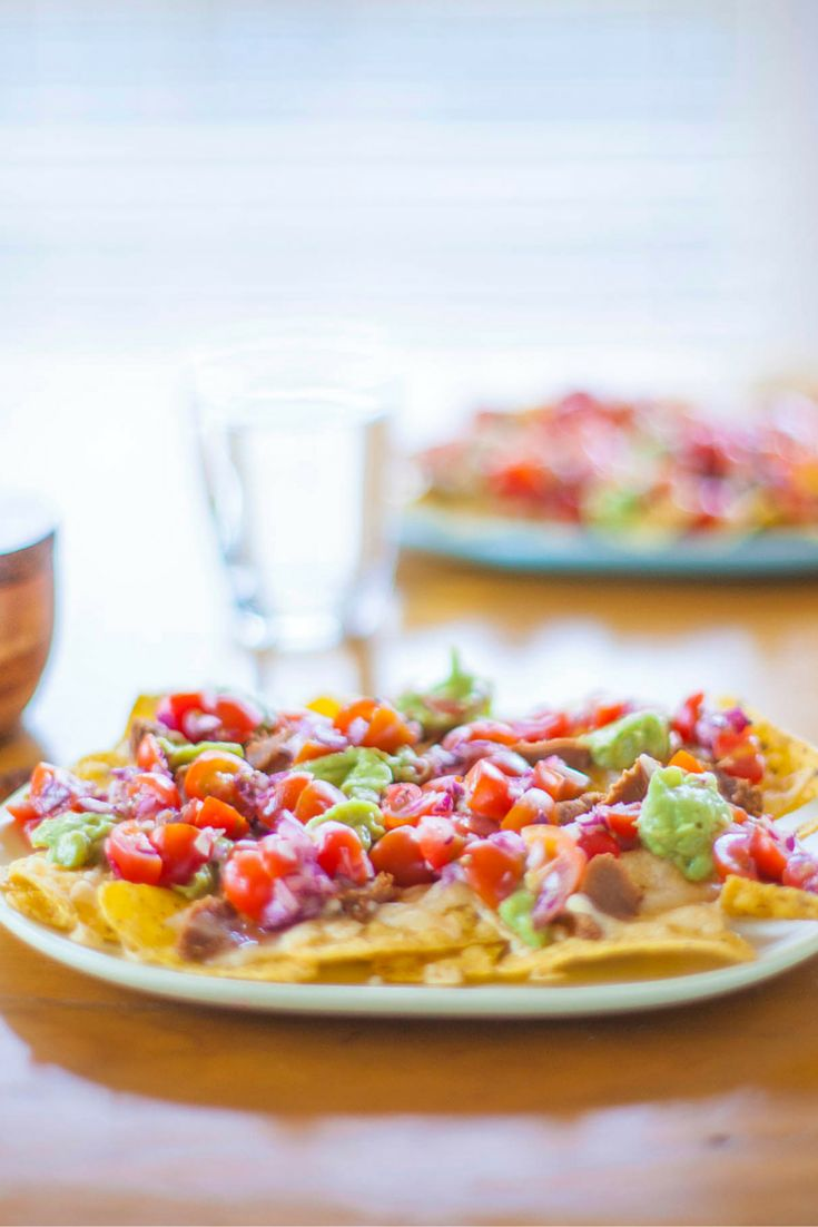 Nachos. Per Serve: 2220 kJ, 531 Calories, 2.7 exchanges #Vegetarian #Type1Diabetes #Recipe
