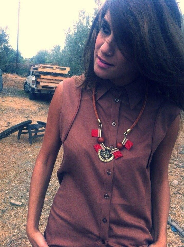 New # Africa # Necklace # natural # leather