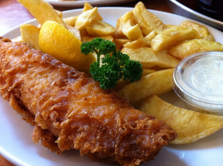 Fish & chips (The Rock & Sole Plaice - 47 Endell St - Covent Garden #London)