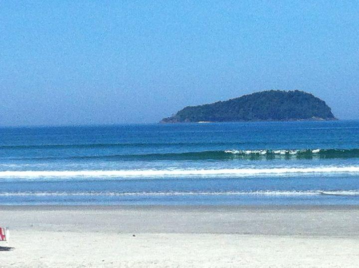 Praia da Baleia em São Sebastião, SP