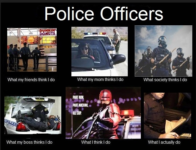 Funny Police Wife Meme : Best images about protect serve on pinterest police