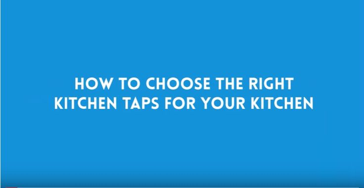 Choosing the right mixer taps for your kitchen sink is very essential. Watch out some important tips that might help you on How to Choose the Right Taps for Your Kitchen => http://bit.ly/2vGDMej  #YouPlumbing #kitchen #quality #plumbingservices #Australia