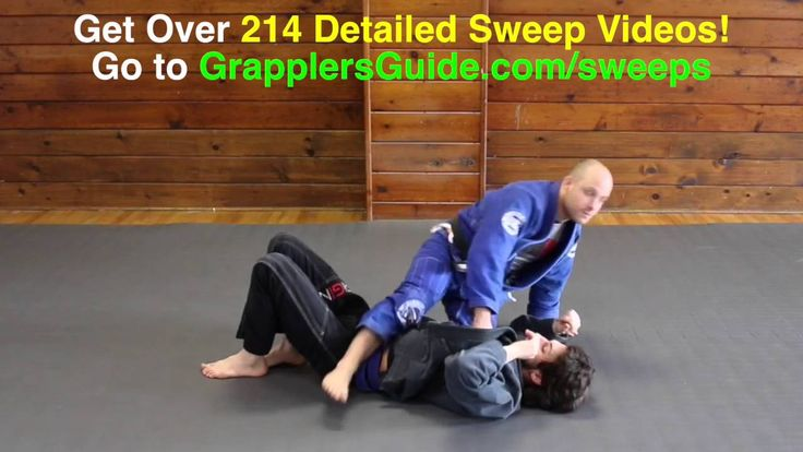 Scissor Sweep from the Closed Guard