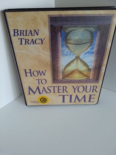 Brian Tracy How to Master Your Time 6 CD Set Nightingale Conant