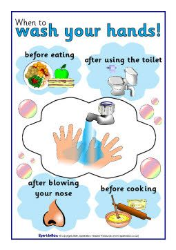 This information and poster about when to wash your hands could be used to help with science on the days about classroom safety, home safety, and doctors.