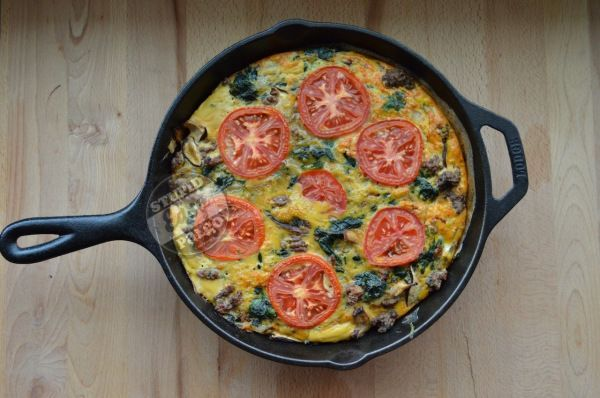 hearty spinach beef frittata eating paleo paleo food paleo diet these ...