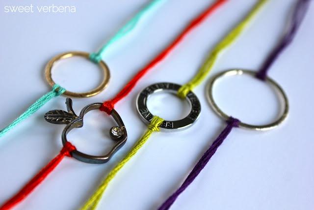 bracelet: Bracelets Tutorials, Idea, Sweet, Diy Fashion, Diy Bracelets, Charms Bracelets, Friendship Bracelets, Crafts, String Bracelets