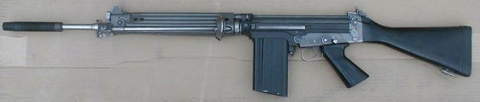 Steyr Stg.58 - австрийский вариант винтовки FN FAL