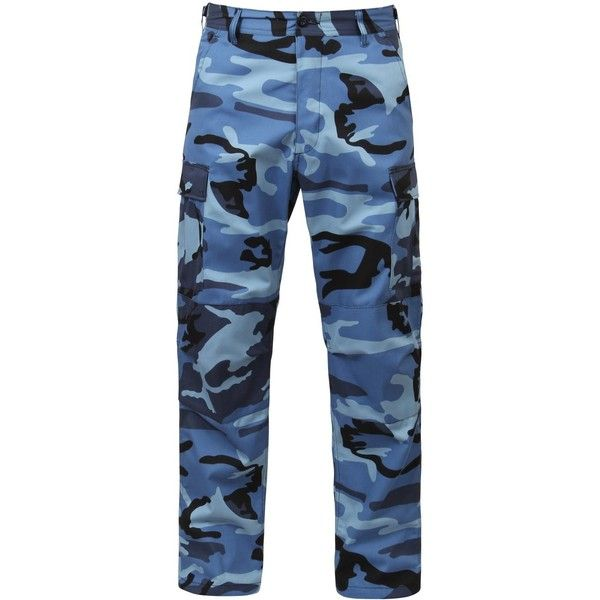 Rothco Bdu Pants featuring polyvore, women's fashion, clothing, pants, sport pants, camouflage pants, sports pants, blue pants and camoflauge pants