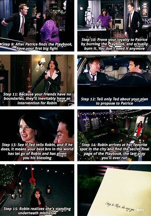 """""""The Robin"""" Best. Play. Ever. I felt bad for Ted although but this destiny believer heck gotta move on to find his true wifey!  Himym Barney and Robin ♥"""