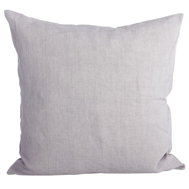Simple kuddfodral 50x50, ljusgrå i gruppen Textil / Plädar & Prydnadskuddar / Prydnadskuddar hos RUM21.se (116121)
