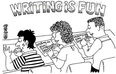 funwriting Article on WTF (Writing is Totally Fun) On my blog onlinewaterbook.wordpress.com