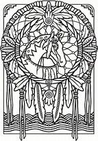 americana folk art coloring pages - photo#22