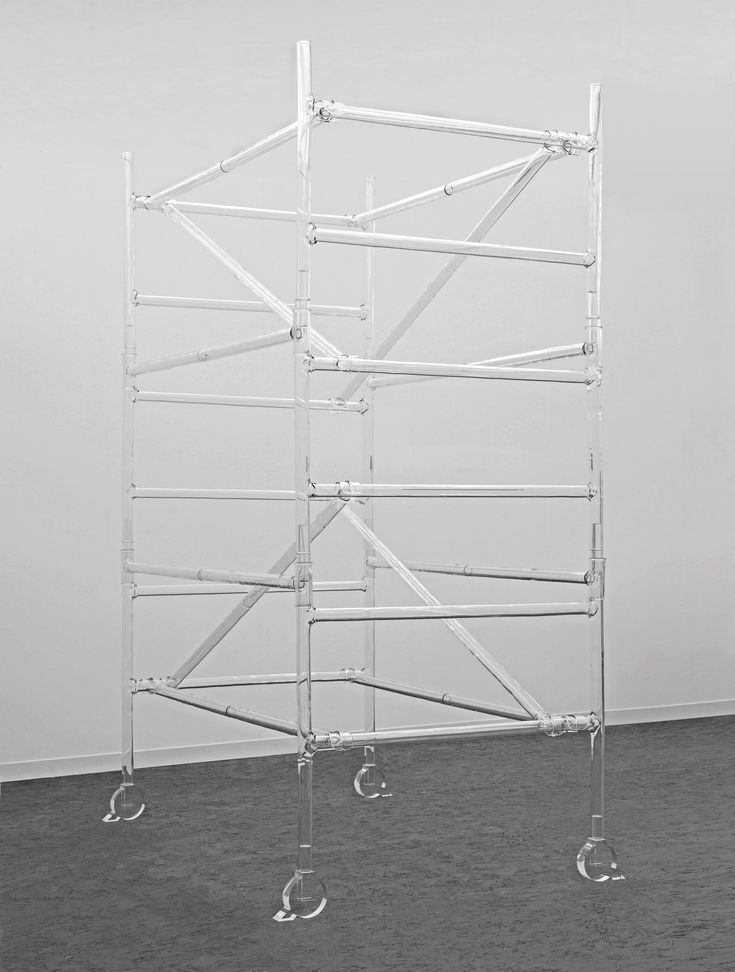 fiona banner | Work 1, 2013, Glass, 340 x 210 x 137 cm