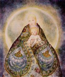 Das Kind (The Child) by Sulamith Wulfing: Sulamith Wulfung, Mini Sulamith, Inspiration, Artist Sulamith Wulfing, Sacred Feminine, Child By Sulamith, Children, Sulamith Wulfling
