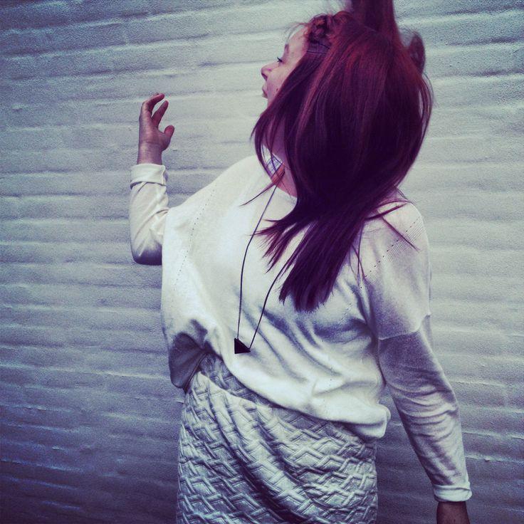 School: Teko.  Outfit: White.
