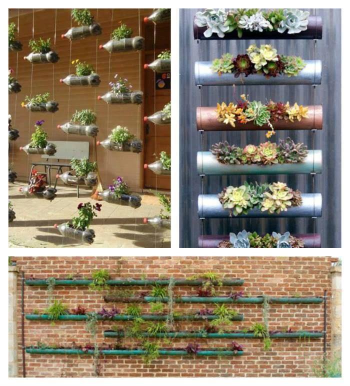 Awesome ideas for a vertical garden