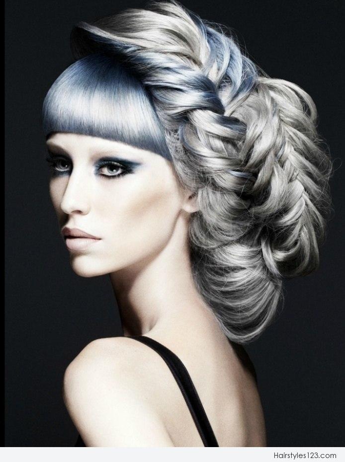 avant garde bridal hair | Avant Garde Braids Hairstyle