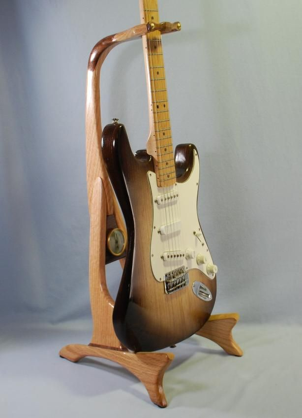 Handcrafted Wooden Guitar Stands ~ Images about guitar stands on pinterest cherries