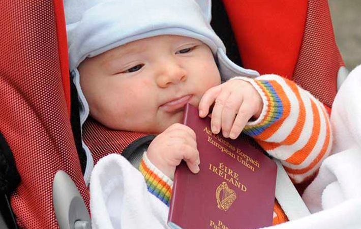 Has passport, will travel: 2014 sees parents' tastes remain the same with many traditional Irish names making it into the top 20.