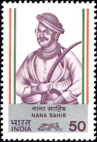 969 Nana Sahib [India Stamp 1984]
