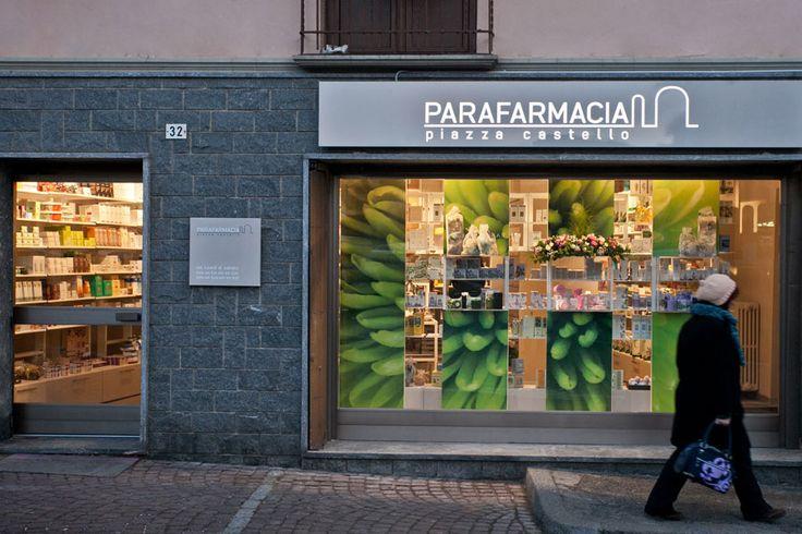 Parafarmacia Piazza Castello > Tutti > Portfolio Alfonso Maligno architecture & design - Studio Alfonso Maligno - Progettazione farmacie