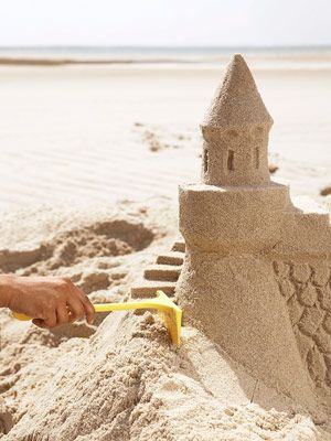 and Tricks - RedbookHow to Make a Sand Castle - Sand Castle Building Tips  - steps, moat, little boat