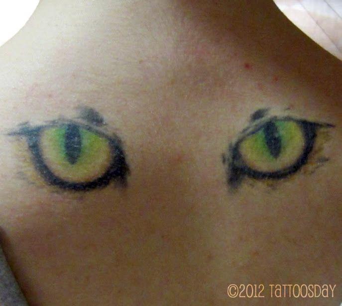 Pin Cat Eye Tattoo Designs Alice Eyes Tattoos on Pinterest