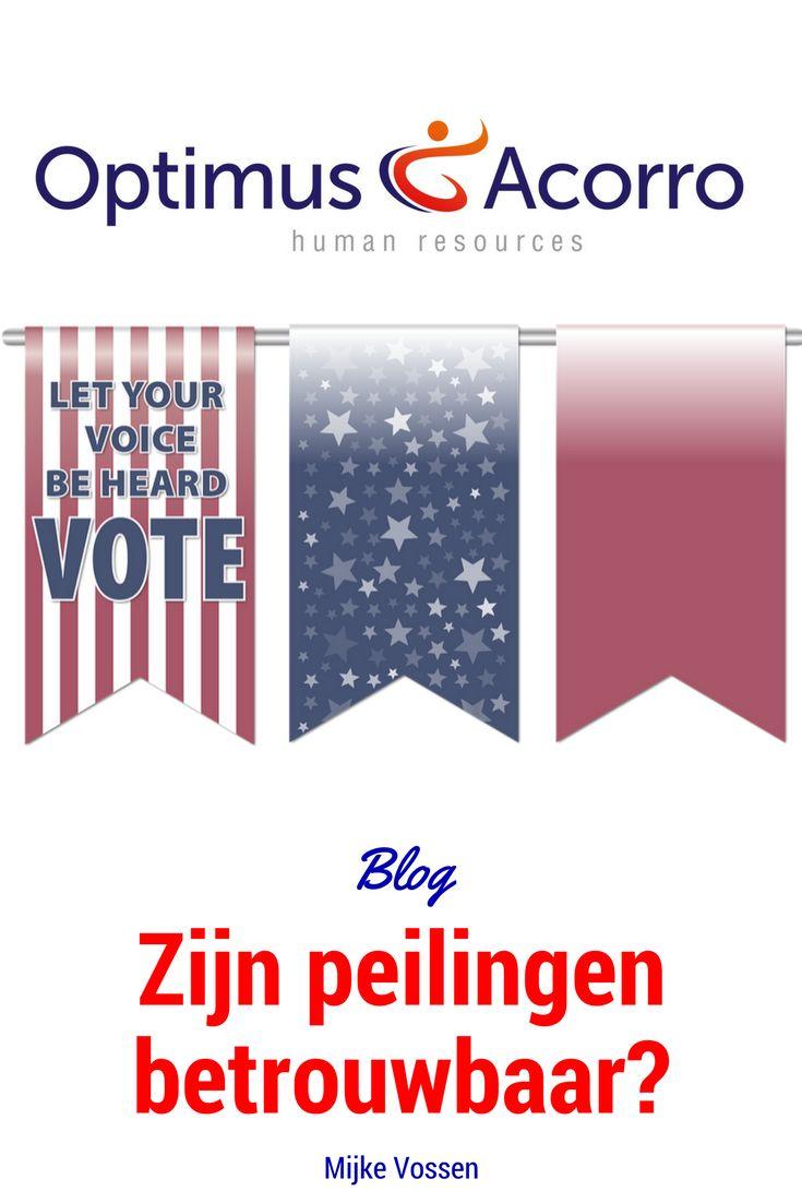 Zijn peilingen betrouwbaar? Blog over een parallel tussen de verkiezingen en het meten van employee engagement