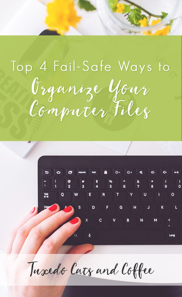 "Are you plagued by multiple files and folders that are crammed with various file formats? Do you always resort to the time-consuming ""search all"" to find a file in your hard drive or external drive?  Here are the top 4 fail-safe ways to organize your computer files."