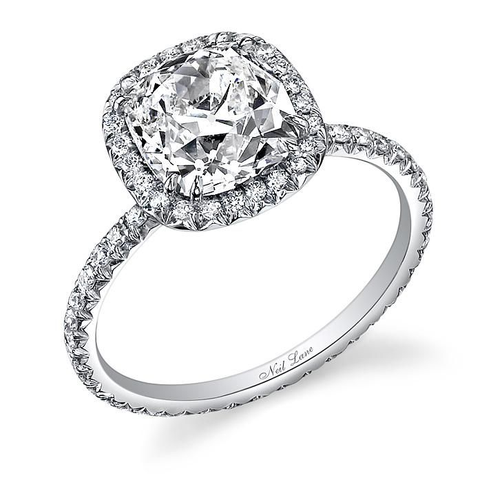 Neil Lane Ushion Ut Engagement Rings