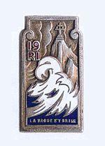 19e régiment d'infanterie (19e RI) est un régiment d'infanterie de l'armée française créé sous la Révolution à partir du régiment de Flandre, un régiment français d'Ancien Régime créé en 1597 sous le nom de régiment de Lesdiguières.
