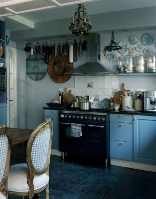 "This kitchen is from our feature ""Full of Surprises"""